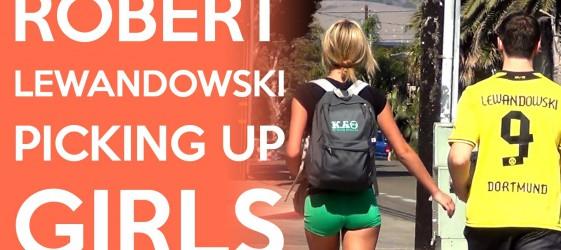 Jak Lewandowski podrywa dziewczyny?