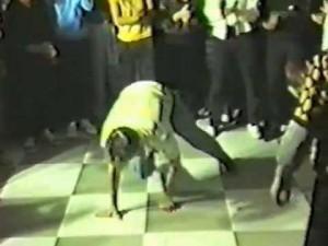Oldschoolowy breakdance – Włocłąwek 1986