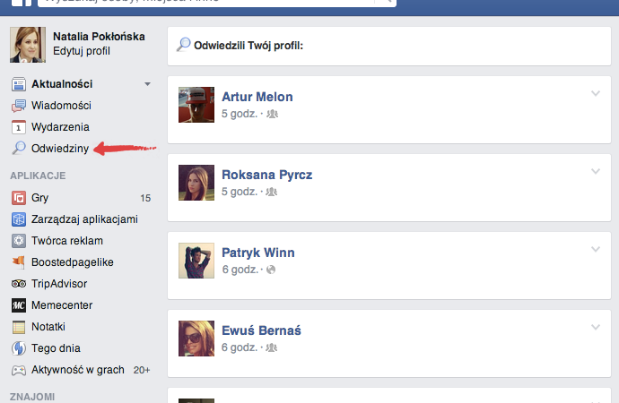 facebook kto ostatnio oglądał mój profil
