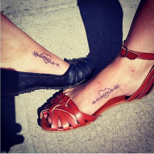 26 Genialnych Tatuaży Które Zrobiły Sobie Siostry