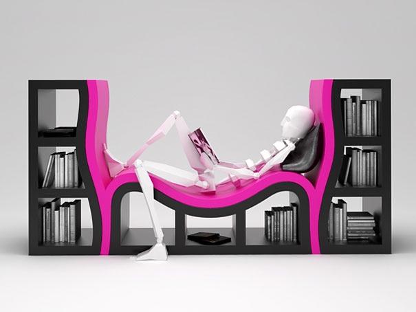 32 Najbardziej Kreatywne Półki Na Książki
