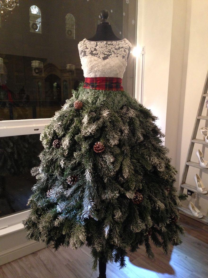 White Christmas Tree Idea