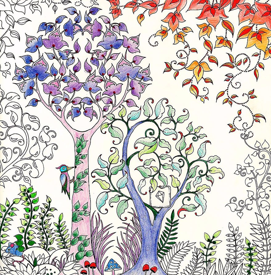 Artystka Tworzy Kolorowanki Dla Dorosłych I Sprzedała Już Ponad 1