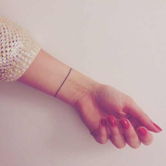 42 Subtelne Tatuaże Które Nie Będą Przeszkadzać Nawet Twoim