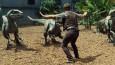 """Zabawni pracownicy zoo odgrywają scenę z """"Jurassic World""""… bez dinozaurów."""