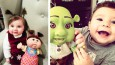 19 dzieci, które wyglądają dokładnie tak samo jak ich lalki.