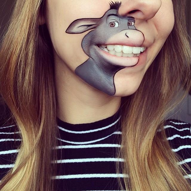 Fantazyjny Makijaż Ust Autorstwa Prawdziwej Mistrzyni Wizażu