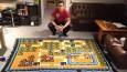 Ten chłopak spędził 6 lat wyszywając koc z mapą Super Mario