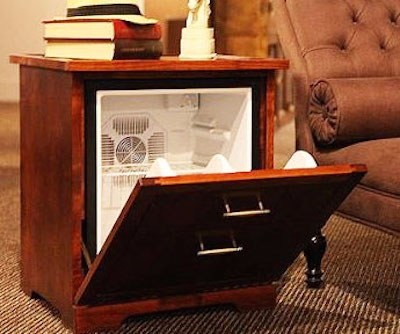 Image Result For Nightstand With Fridge