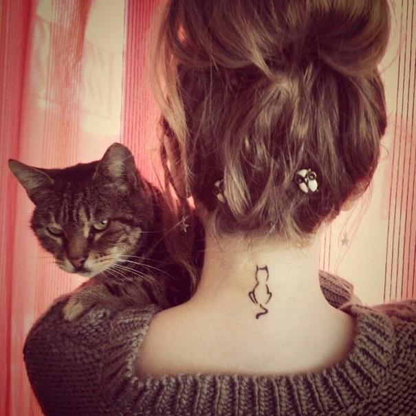 25 Minimalistycznych Tatuaży Które Pokochają Wszyscy