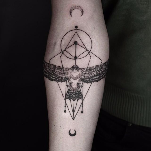 Minimalistyczna Seria Niesamowitych Tatuaży Utalentowanego