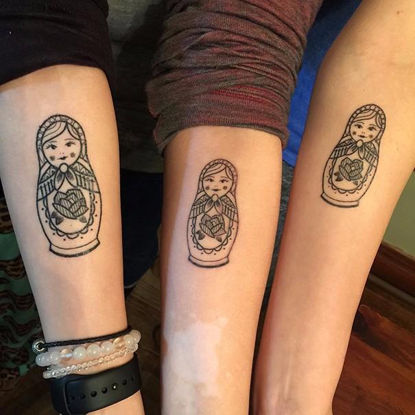 25 Inspirujących Tatuaży Dla Sióstr Które Wyjątkowo Cenią