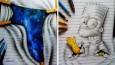 Utalentowany 16-latek tworzy imponujące rysunki, wykraczające poza powierzchnię kartek notatnika.