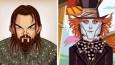 10 rysunkowych gifów, które trafnie podsumowały karierę znanych aktorów.