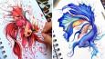 Niesamowite kreatury ze szkicownika eksperymentującej artystki.