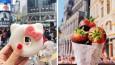 Użytkowniczka Instagrama zwiedza świat, degustując i fotografując lokalne przysmaki.