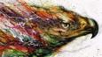 Utalentowany artysta z Chin tworzy ekspresyjne murale na bazie wielobarwnych kleksów.