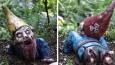 Miniaturowa apokalipsa zombie – krasnale ogrodowe przemienią Twój ogród w scenerię horroru!