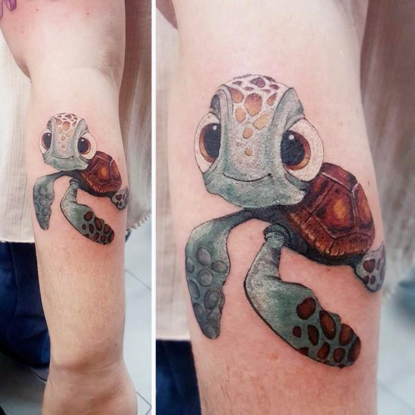 17 Bajkowych Tatuaży Zainspirowanych Motywami Z Filmów