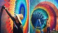 Kalejdoskopowe graffiti 3D w wykonaniu utalentowanego artysty z Miami.