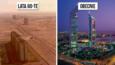 10 miast, które na przestrzeni kilku dziesięcioleci zmieniły się nie do poznania.