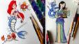 Artysta zamienia zwierzęcych przyjaciół księżniczek Disneya w Pokémony!
