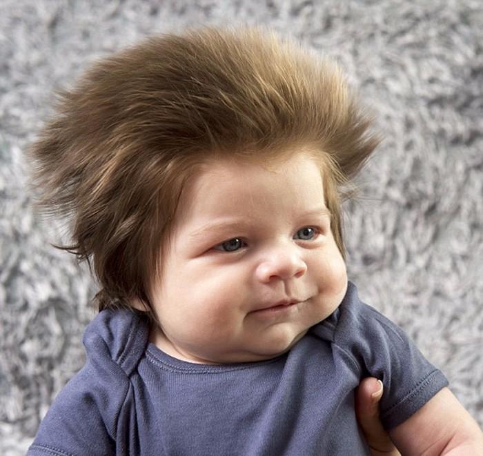 Poznajcie 2 Miesięcznego Chłopca Z Najbujniejszą Fryzurą Na świecie