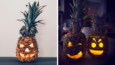 Ananasy zamiast dyni na Halloween? Czemu nie! Zwłaszcza, że wyglądają naprawdę genialnie!