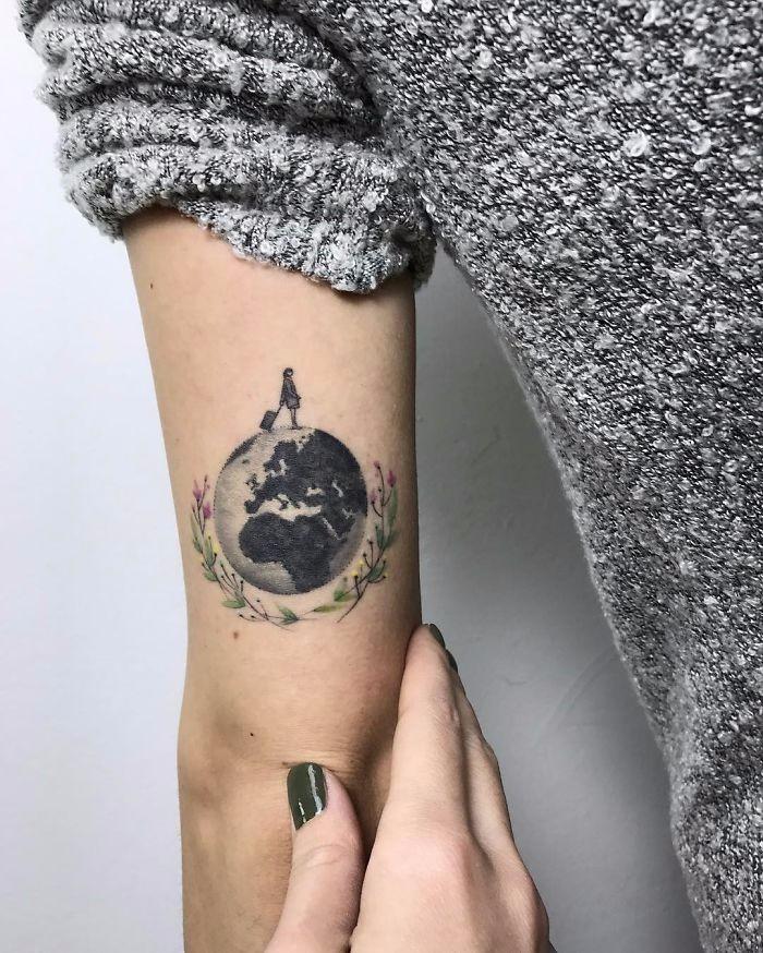 15 Pomysłowych Tatuaży Które Zdobędą Serca Wszystkich