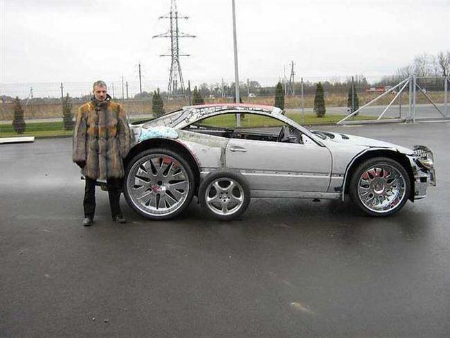 Zobacz jak ze z omu stworzy niesamowity samoch d b dziesz zaskoczony - Mercedes benz garage london ...
